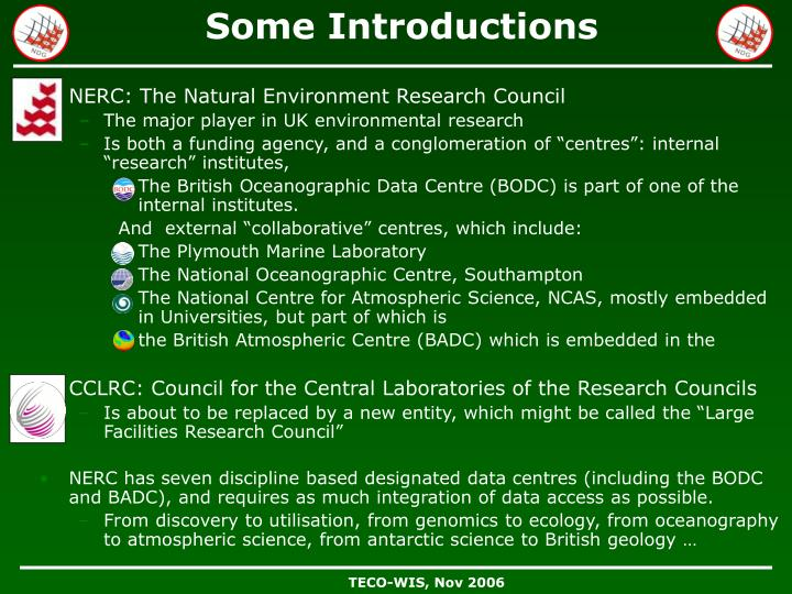 NERC: The Natural Environment Research Council