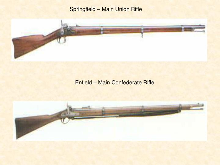 Springfield – Main Union Rifle