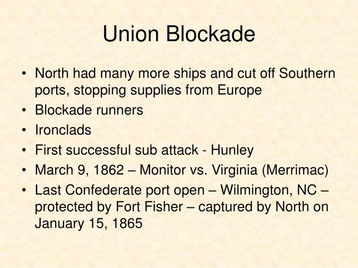 Union Blockade