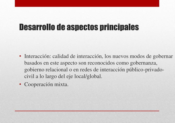 Interacción: calidad de interacción, l