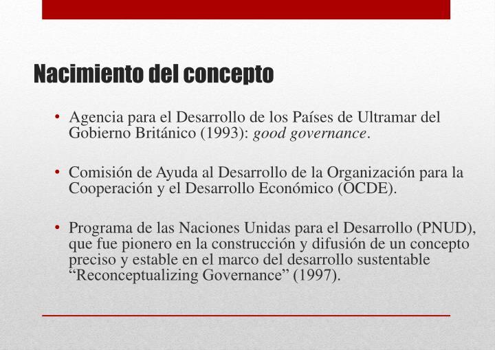 Agencia para el Desarrollo de los Países de Ultramar del Gobierno Británico (1993):
