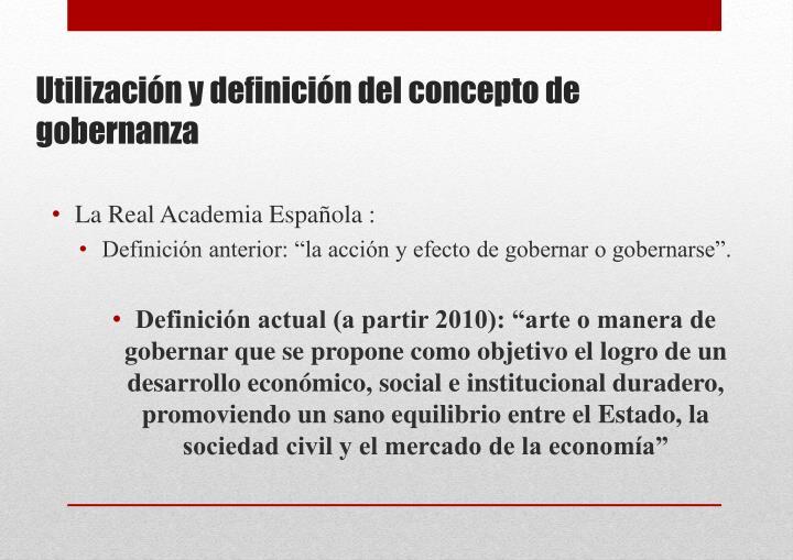 La Real Academia Española :