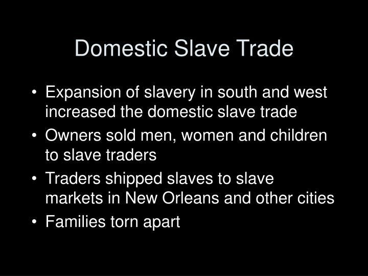Domestic Slave Trade