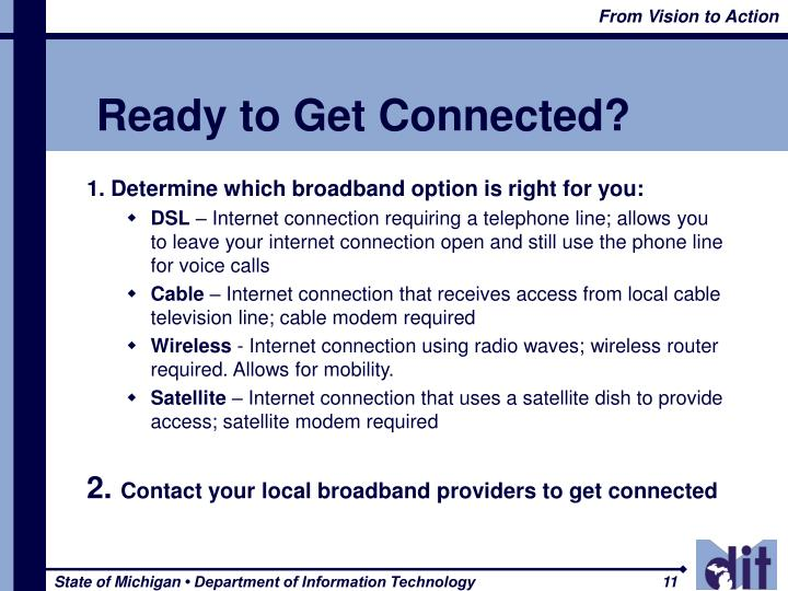 Ready to Get Connected?
