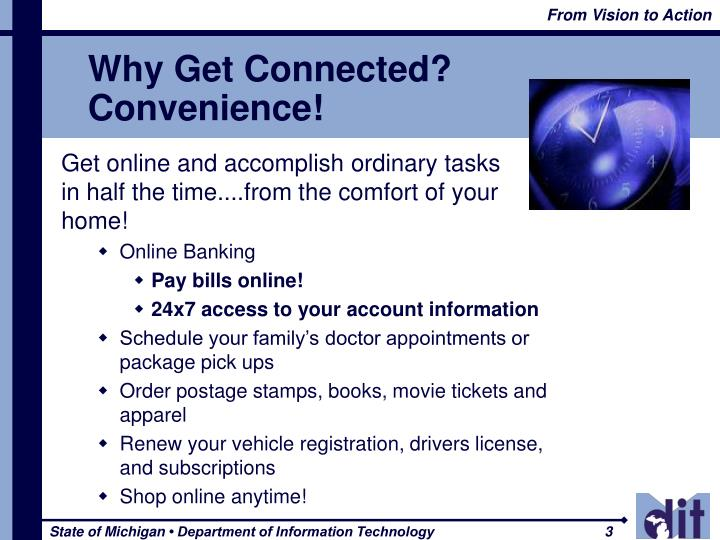 Why Get Connected?