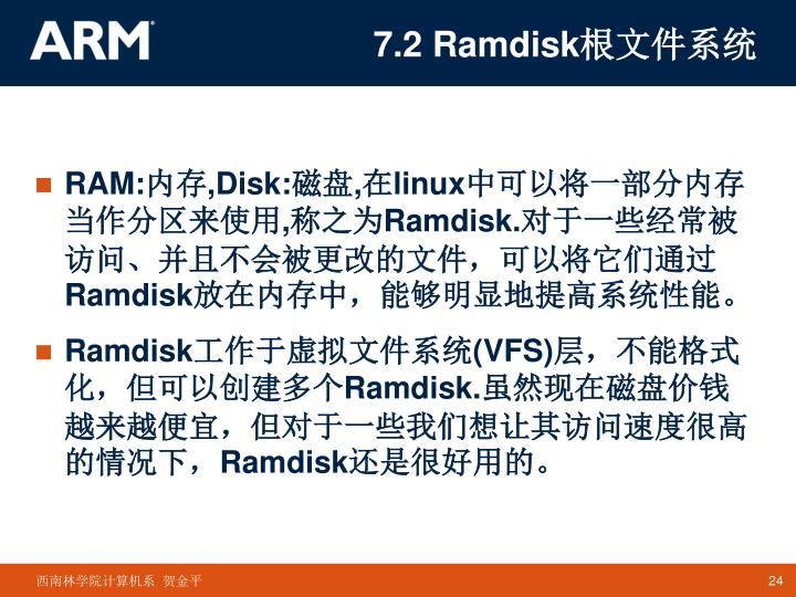7.2 Ramdisk