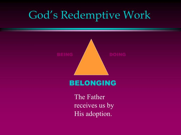 God's Redemptive Work