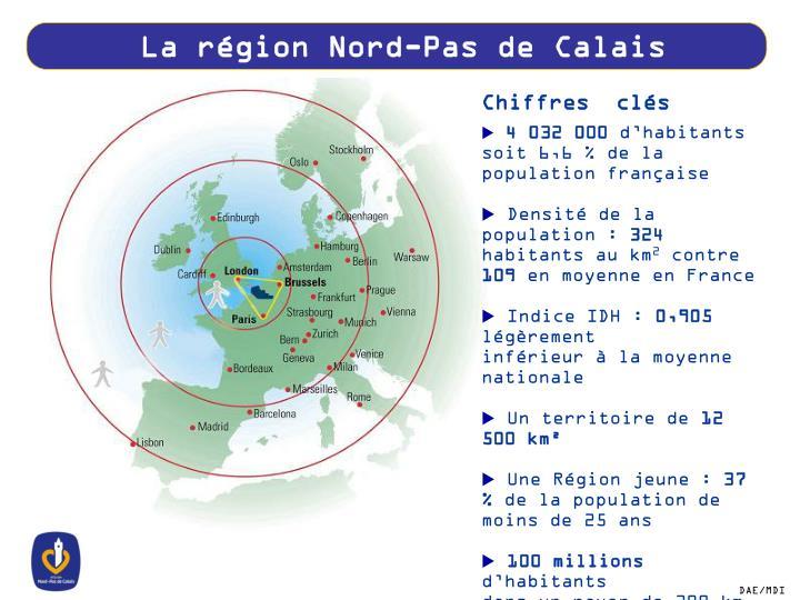 La région Nord-Pas de Calais