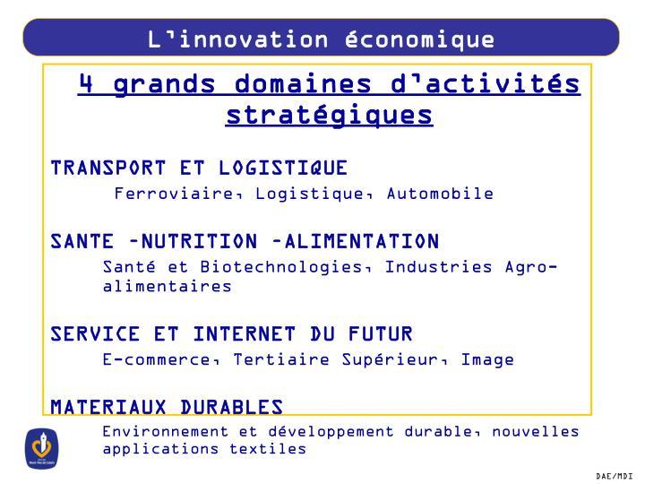 L'innovation économique
