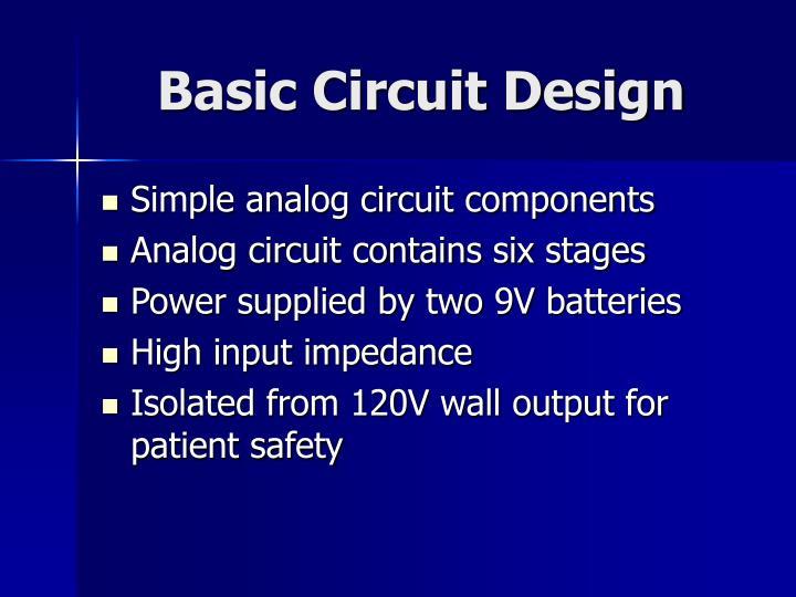 Basic Circuit Design