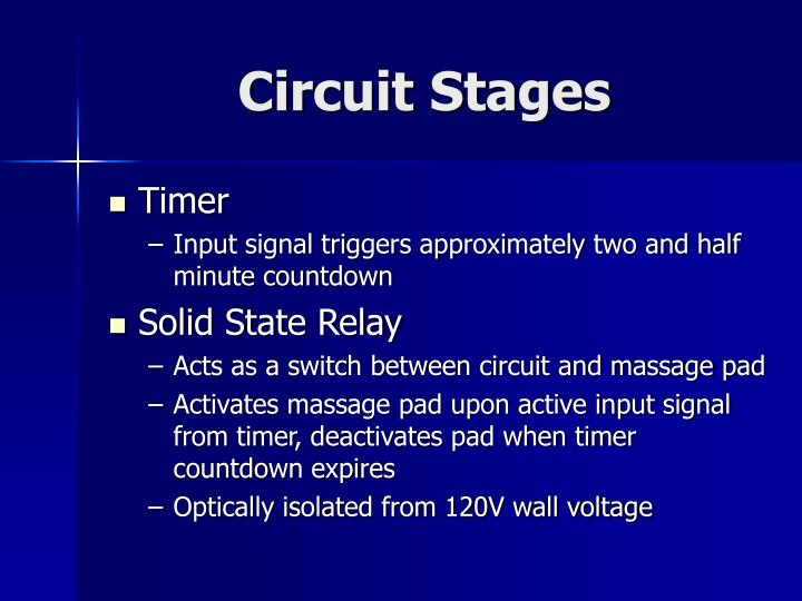 Circuit Stages