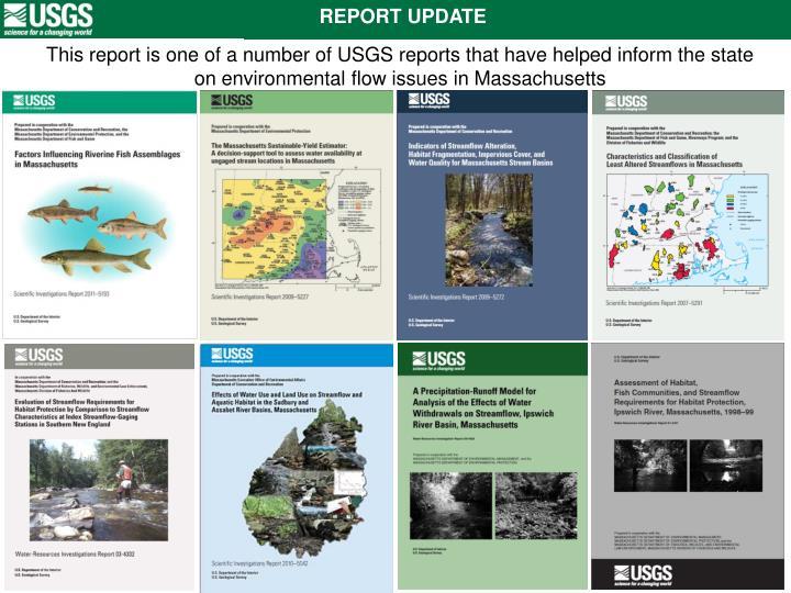 REPORT UPDATE