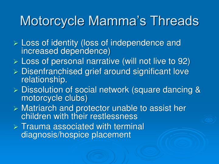 Motorcycle Mamma's Threads
