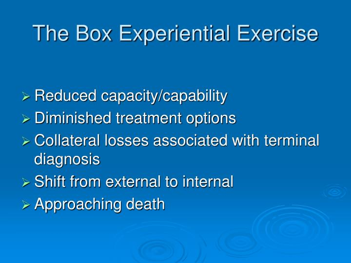 The Box Experiential Exercise