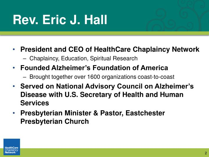Rev. Eric J. Hall