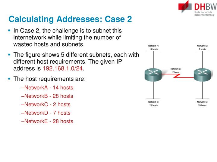 Calculating Addresses: Case 2