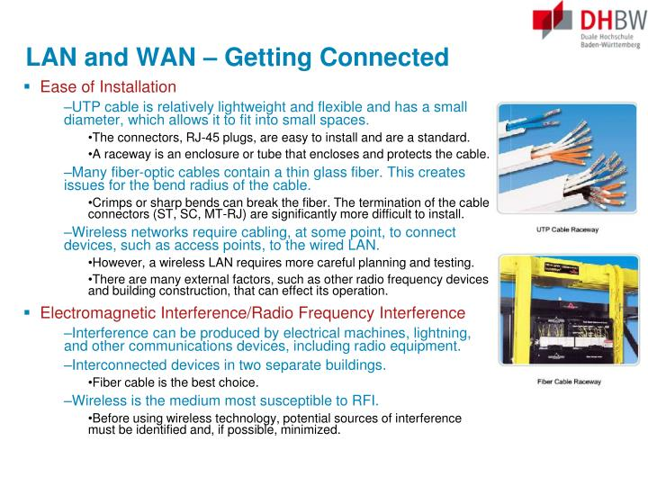 LAN and WAN – Getting Connected