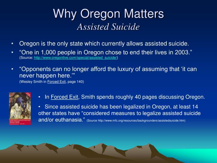 Why Oregon Matters