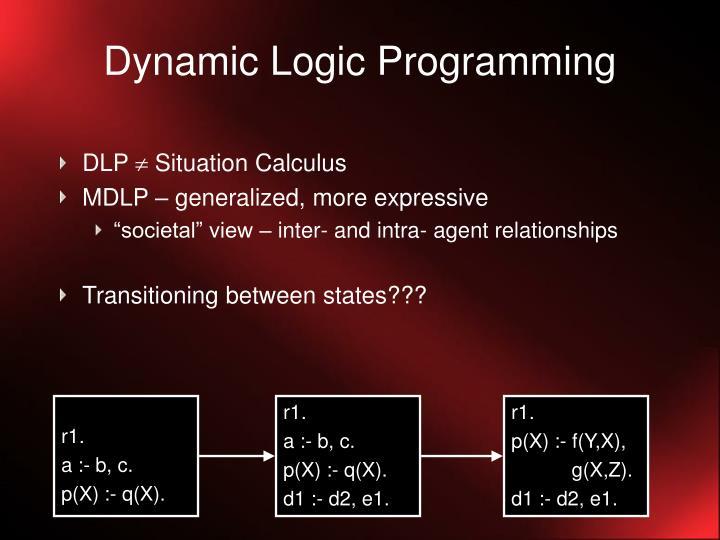 Dynamic Logic Programming