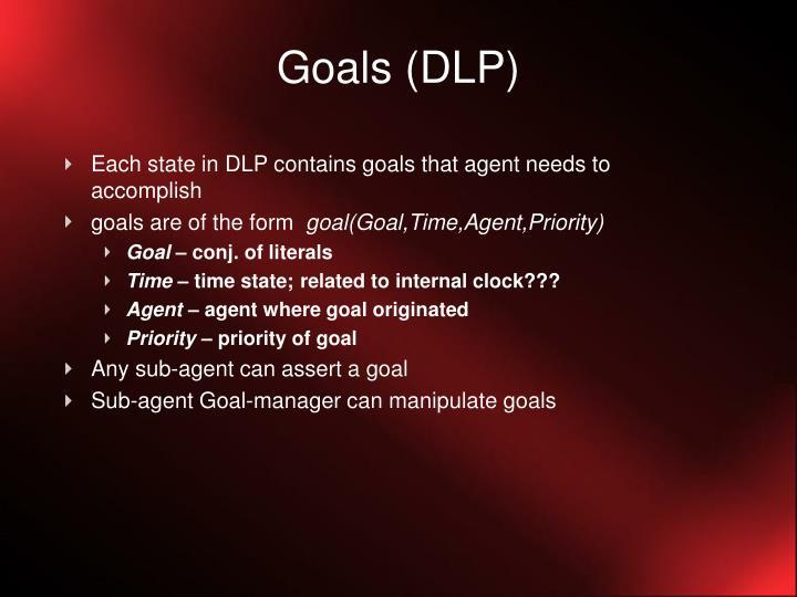 Goals (DLP)