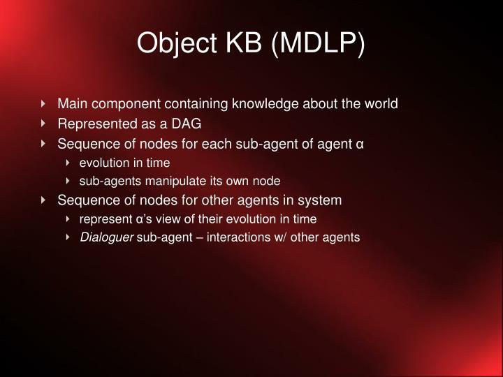 Object KB (MDLP)
