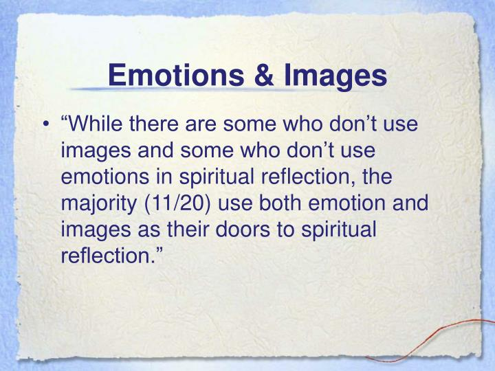 Emotions & Images