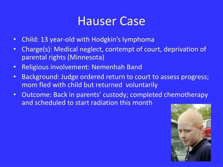 Hauser Case