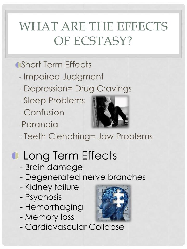 What are the Effects of Ecstasy?