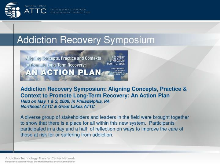 Addiction Recovery Symposium