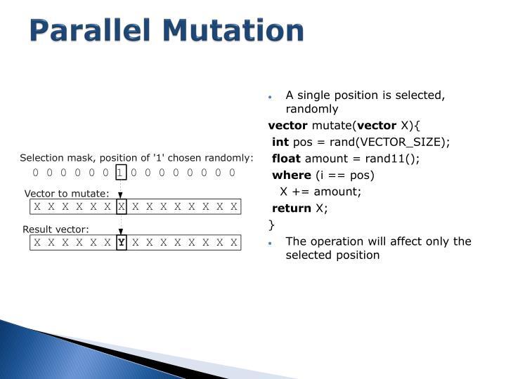 Parallel Mutation