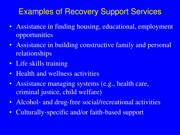 Assistance in finding housing, educational, employment opportunities