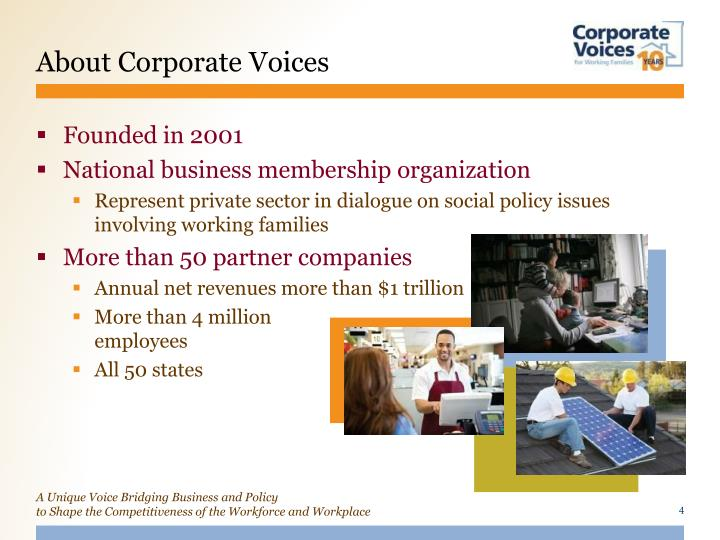 About Corporate Voices