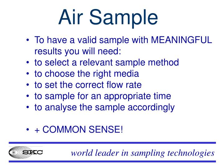 Air Sample