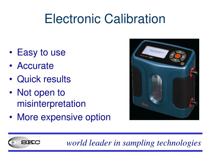 Electronic Calibration