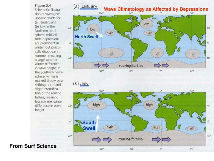 Wave Climatology as Affected by Depressions
