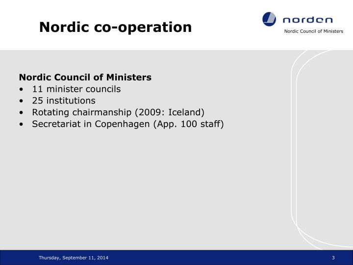 Nordic co operation1