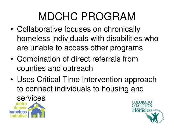 MDCHC PROGRAM
