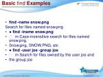 basic find examples