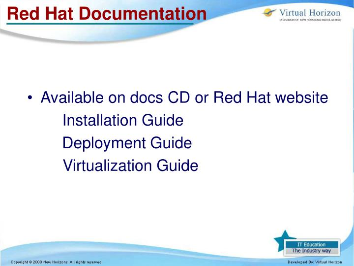 Red Hat Documentation
