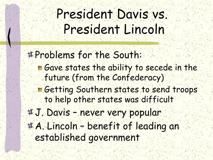 President Davis vs.