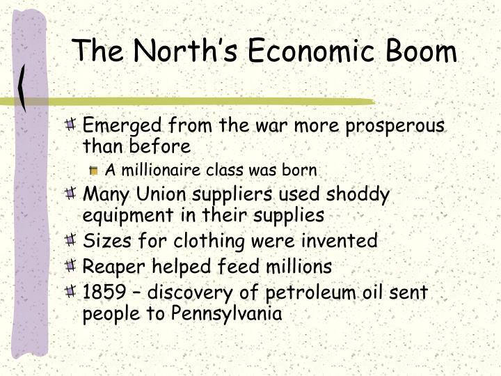 The North's Economic Boom