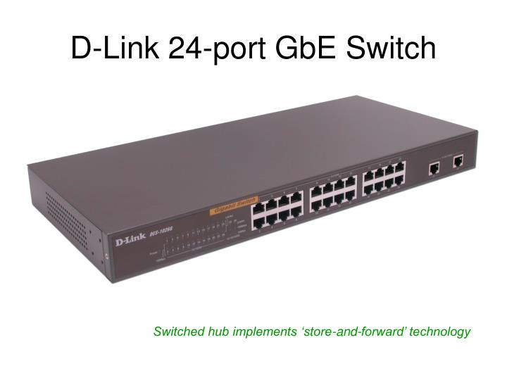 D-Link 24-port GbE Switch