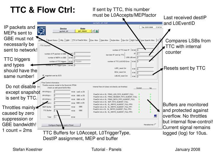 TTC & Flow Ctrl: