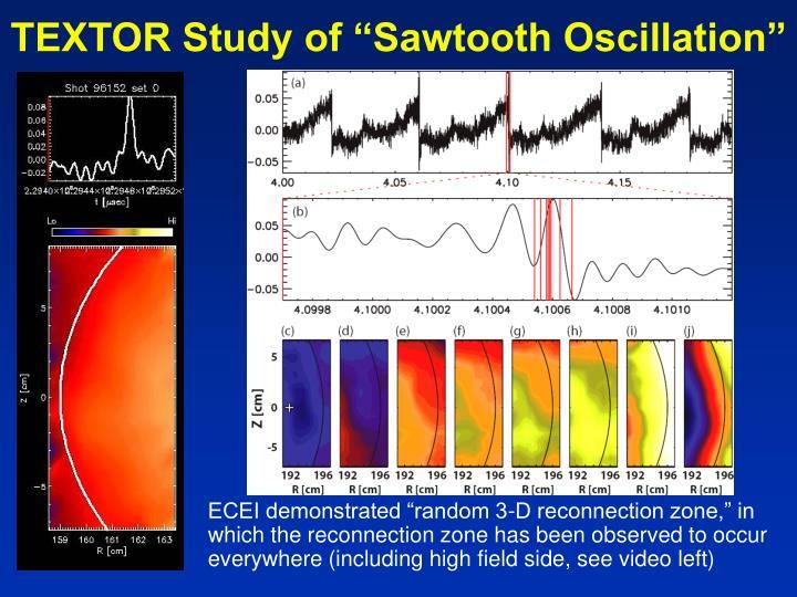 "TEXTOR Study of ""Sawtooth Oscillation"""
