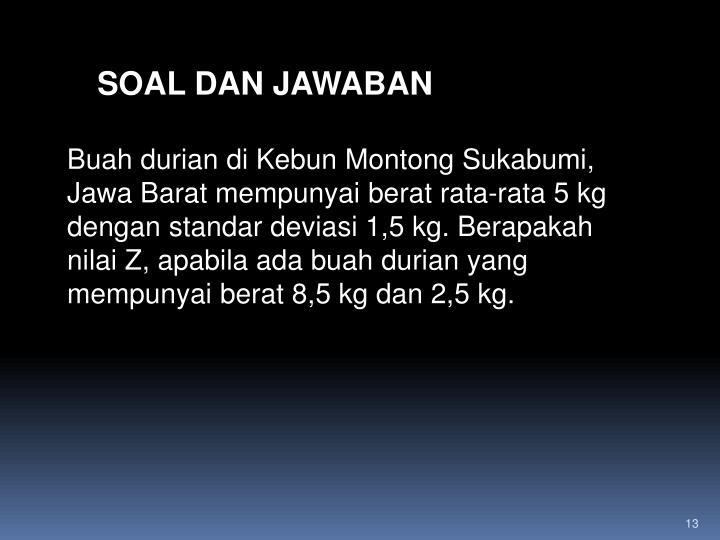 SOAL DAN JAWABAN