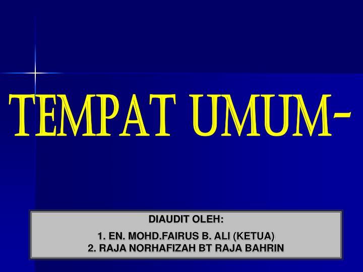 TEMPAT UMUM-
