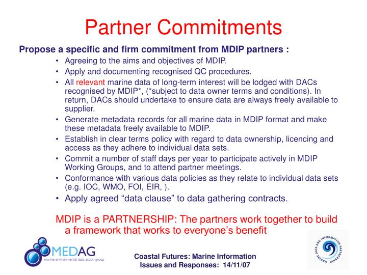 Partner Commitments