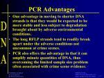 pcr advantages