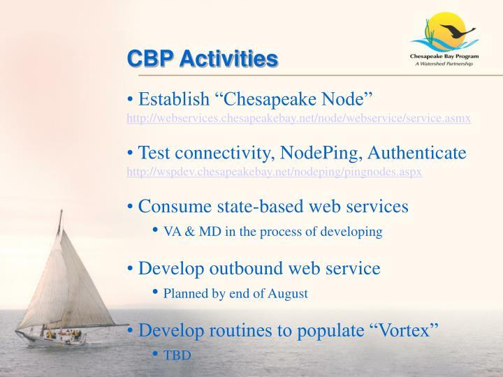 CBP Activities