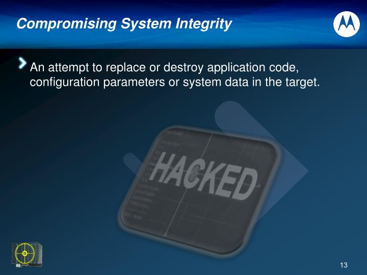 Compromising System Integrity